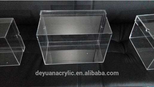 clear plexiglass shoe box/Acrylic shoe display box