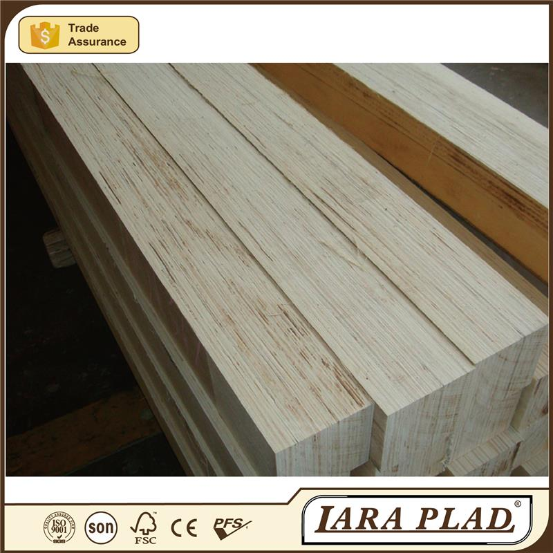 grooved/slotted LVL plywood