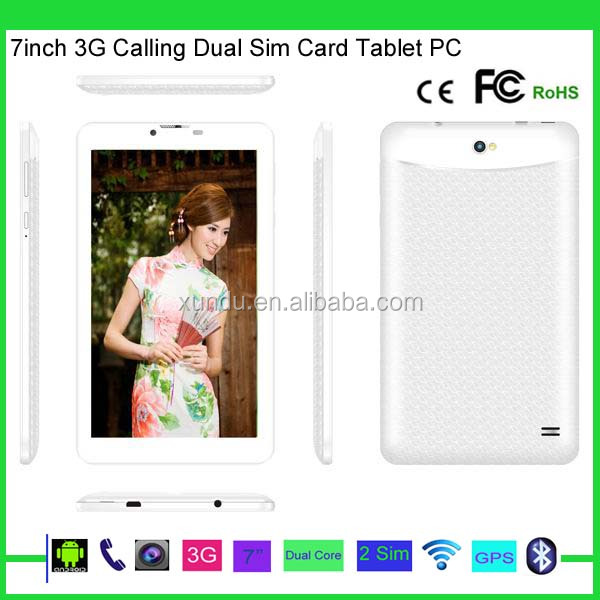 Cheapest tablet pc with dual sim card android 4.2.2 512MB Ram 4GB DDR