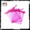 Brand new china made colorful jewelry organza bag with low price