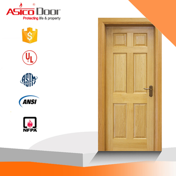 Asico Ul Listed 20min Fire Rated Fireproof Single Leaf Swing Stile ...