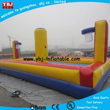 2015 inflatable bungee jump run for sale, inflatable bungee basketball/ inflatable bungee run for sale