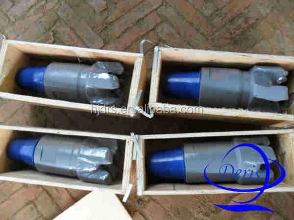 "Hebei 8 1/2"" pdc cutter 6 blades pdc bit rock bit for oil exploration"