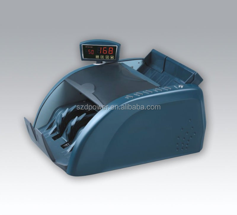 High quality bill counting Cash Counter machine currency checking machine 6116E/1