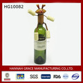 Innovative Rabbit Wine Bottle Cover Wear WIne Cork For Hand & Feet