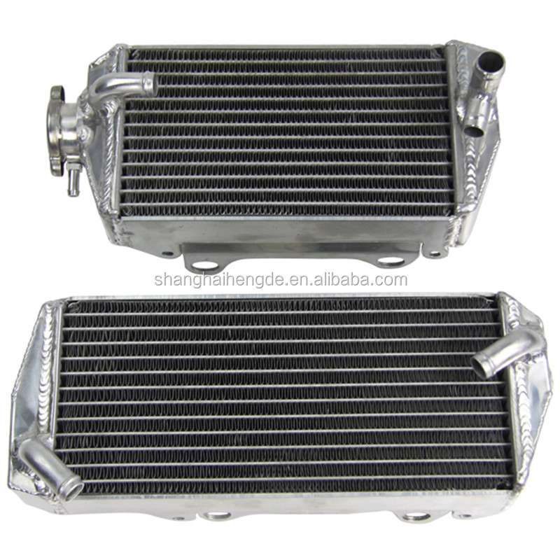 Online sale classic radiators aluminium performance coolant double radiator 2003 2004 2005 2006 For KTM 400 450 525 SX/MXC/EXC