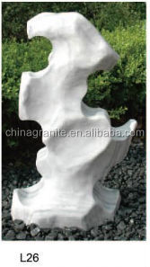 Garden decoration natural white rocks landscaping prices