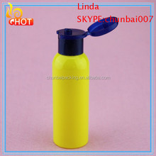 200ML Flip Bottles/Empty Transparent Plastic Cosmetic Lotion Containers
