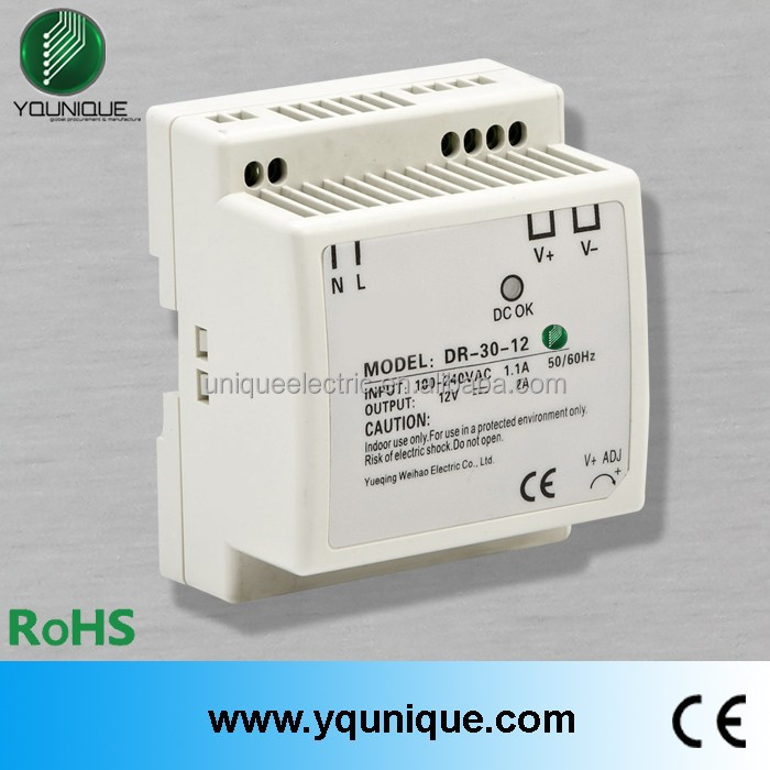 DR-30-24 45W 1.5A 24V switching cctv power supply