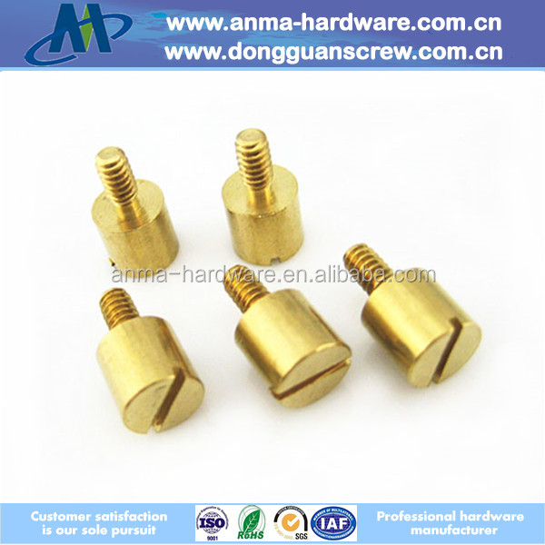 Brass material CNC machining parts, special machining parts made in China