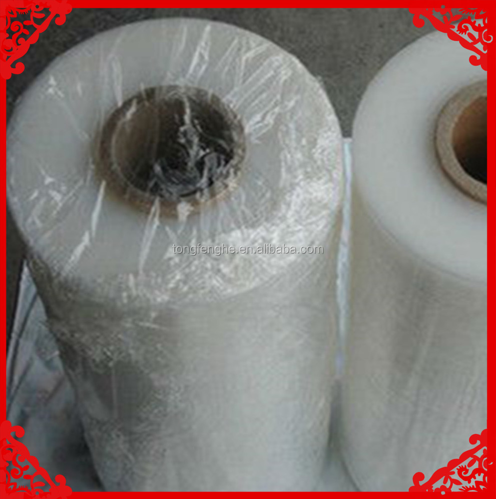17 Micron Hot Film Lldpe Clear Industrial Ldpe Stretch Film Prices