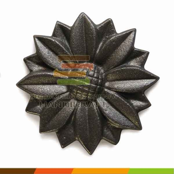Cast iron customized design decorative ornamental product manufacturer