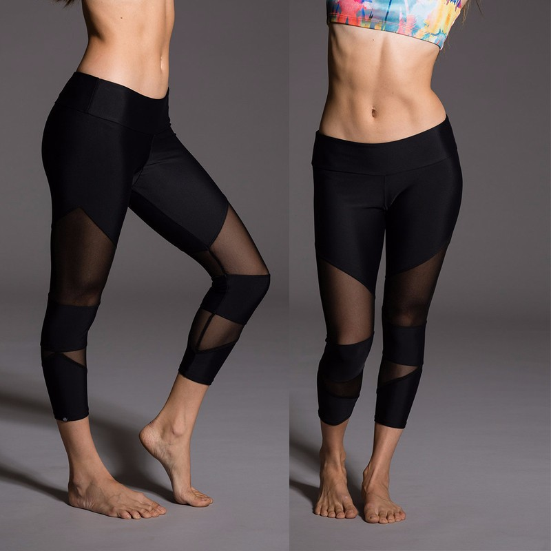 OEM Latest Fashion Custom yoga Capri leggings nude women yoga tights fitness pants for women