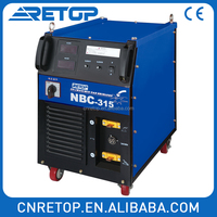 NBC315F three phase inverter IGBT electric welder welding machine soldadura mig maquina de soldar