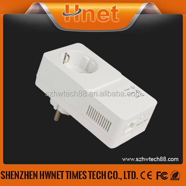 hot new products for 2015 HomePlug AV2 600Mbps Powerline Mini Passthrough adapter