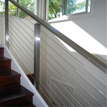 ACE Supplier Outdoor Top Quality 316 Stainless Steel Cable Railing / Cable Balustrade for Terrace