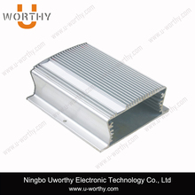 Tubular Body Type Custom Length Aluminum Extrud Encloser Heat Sinking Case 83 x 35.5 mm