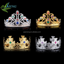 Wholesale plastic tiaras promotional queen <strong>crown</strong> For Sale