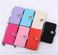 Wholesale mobile Phone Accessories Wallet Leather Case for Samsung Galaxy S5 S6 Active