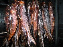 African Style Natural Smoked Dried Fish