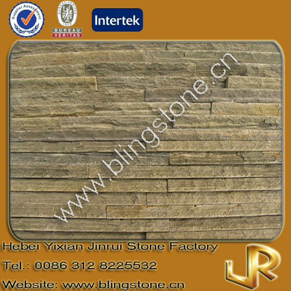 Decorative rusty natural falling water slate
