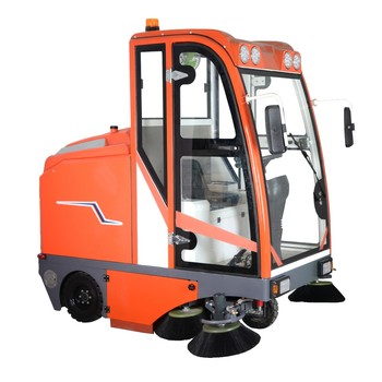 PB210 large floor sweeper  road cleaning battery