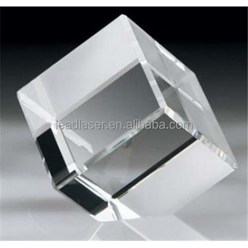 crystal and glass raw crystal glass block blank crystal block
