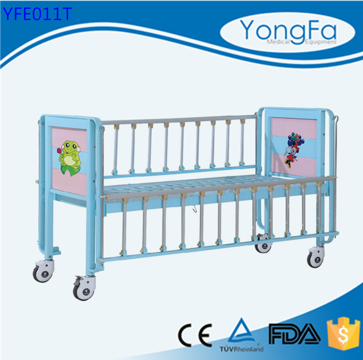 YONGFA ISO CE FDA children beds used hospital children beds for sale nursery children bed