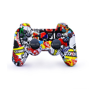 Hot selling Wireless Double Shock Games Cartoon PS3 Controller joystick for PS3 Console