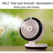 CE ROHS misting fan / amazon best selling fancy usb electric fans with water spray