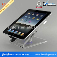 clear ipad stand