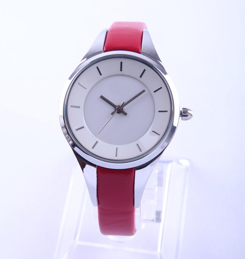Wholesale cheap leather flower bracelet wrist watch for lady Assisi factory directed supply