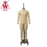 Hot sale male plus size 50 full body fashion dummy model