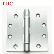 American Everbilt door hinge with satin nickle surface finish