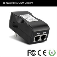 New Arrival Single Port 10/100M PoE Power Supply 24v PoE Adapter