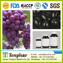 500mg Organic Natural Grape Fruit Seed Plant Extract Essence Pills
