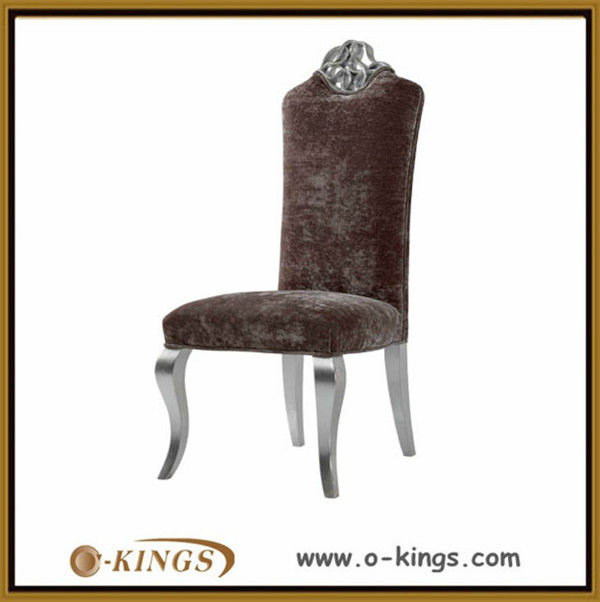 High back dining room chair covers with arms