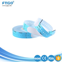 wholesale printable medical hospital bar code silicone wristbands
