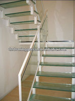 21.52mm EN12150-1 and CCC Accredited Tempered Glass Stairs