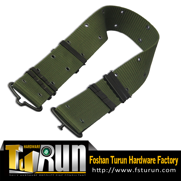 Factory price popular Custom Military Belt with metal buckle