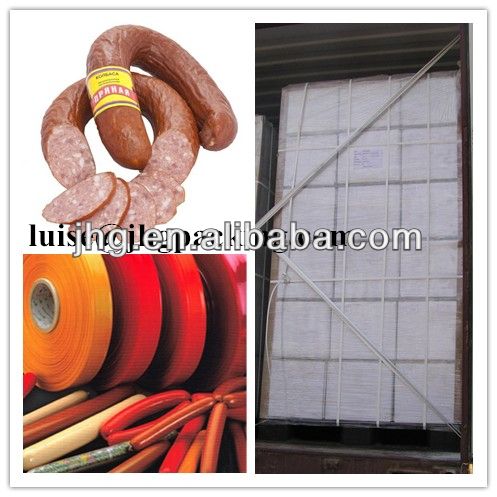 sausage casing! EVOH barrier film for cheese, paultry, meat, sea foods, etc