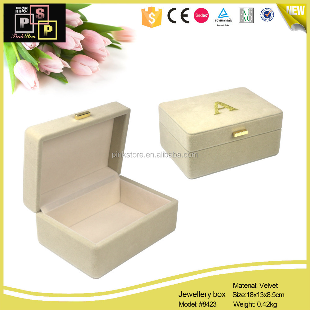China Supplier Premium Strong Wooden Jewelry Box, Gift Box, Velvet Box