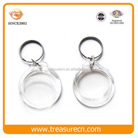 Acrylic charms photo keychain pendant for promotion