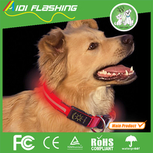 LED Dog Collars Light USB Rechargeable Safety Pet Accessories