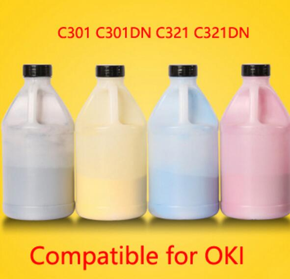 High density Toner,Bulk color toner powder for oki C301 C301DN C321 C321DN