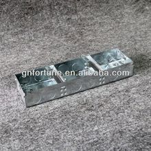 China Manufacturer metal outlet box covers