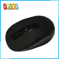 Black colro mini 2.4g wireless optical mouse driver with matt surface