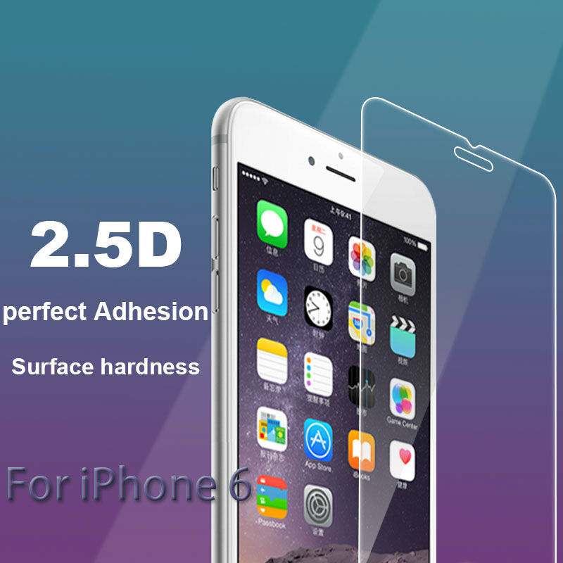 High Quality Premium Real Tempered Glass Screen Protector for iPhone 4 4s 5 5c 5s 6 6s plus