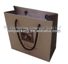 Paper Packaging Bag for Cement with Handles