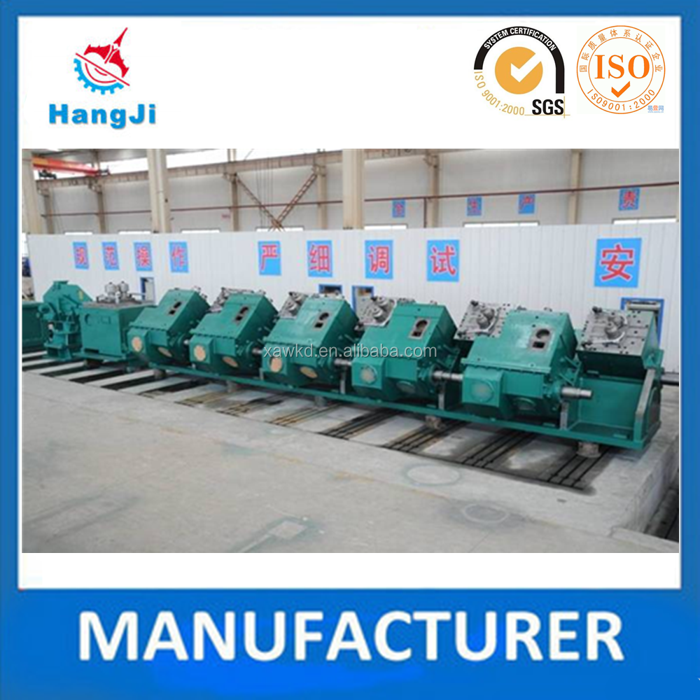 Steady performance 45 Degree No twist high speed wire rod finishing aluminium foil rolling mill